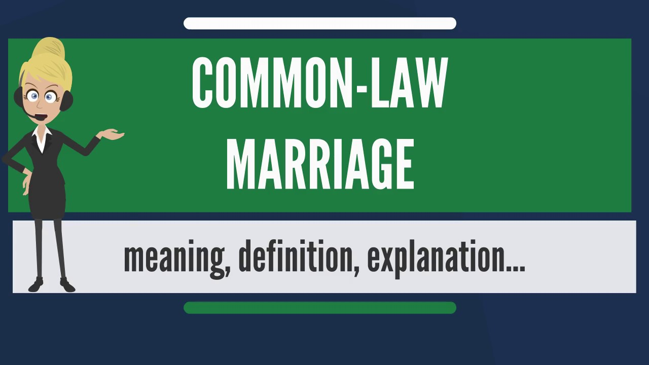 Watch Common Law Marriage And the States That Recognize It video