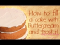 How to Buttercream a Cake - Pretty Witty Cakes