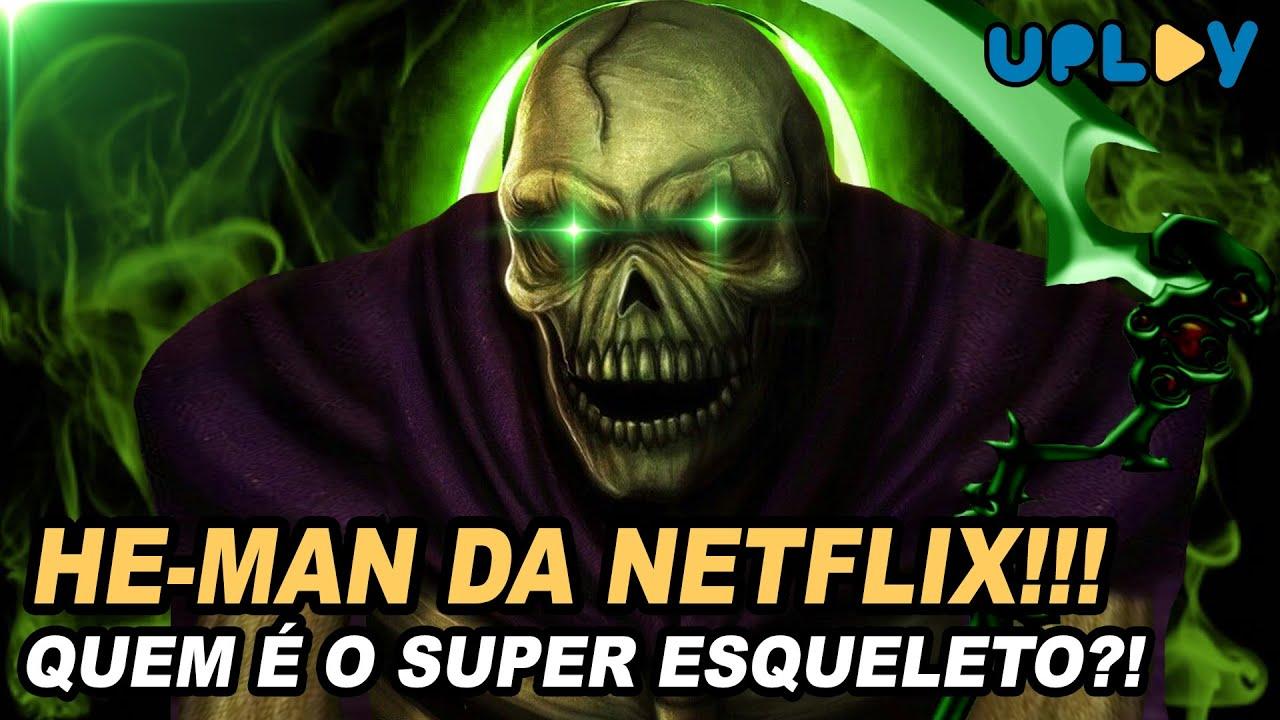 ESQUELETO SUPER PODEROSO NO HE-MAN DA NETFLIX? SCARE GLOW E SKELEGOD!!!