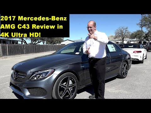 2017 Mercedes AMG C43 - Extended Review, Test Drive, Self Driving Tech Demo, in 4K HD