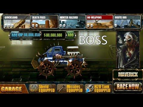 ROAD WARRIOR (mod) Defeat Boss Maverick