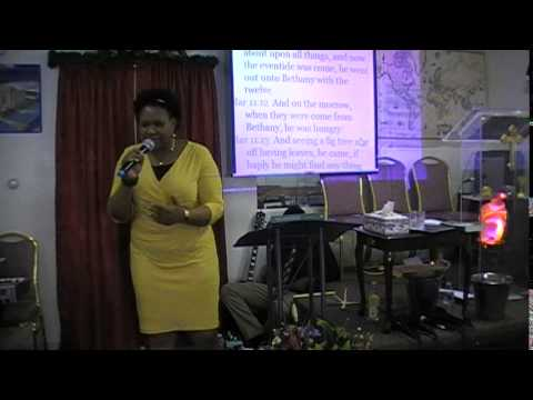 Sunday, April 13th, 2014 Pastor Ebere Ogba Trotman  Palm Sunday Part 2