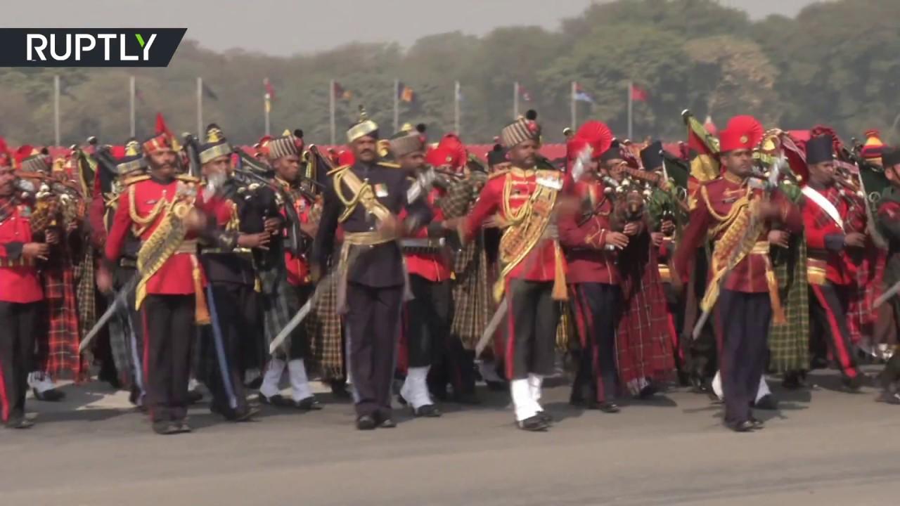 Military parade celebrates 69th Army Day in New Delhi