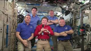 Expedition 51 Crew Hands Over the Space Station to Expedition 52