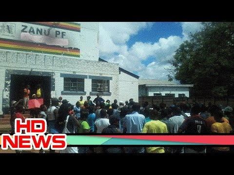 Mayhem in Zanu PF Manicaland province as angry members threaten to vote for Chamisa's MDC