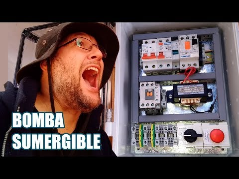 Tablero electrico Bomba de Agua. Bomba Sumergible. Electricidad thumbnail