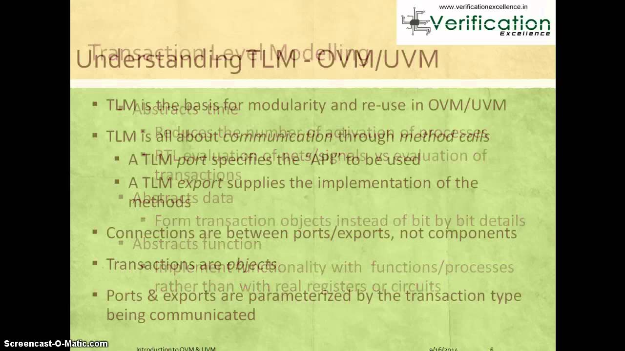 Download Transaction Level Modelling for OVM and UVM