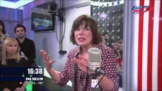 Milla Jovovich interview on Russian Radio