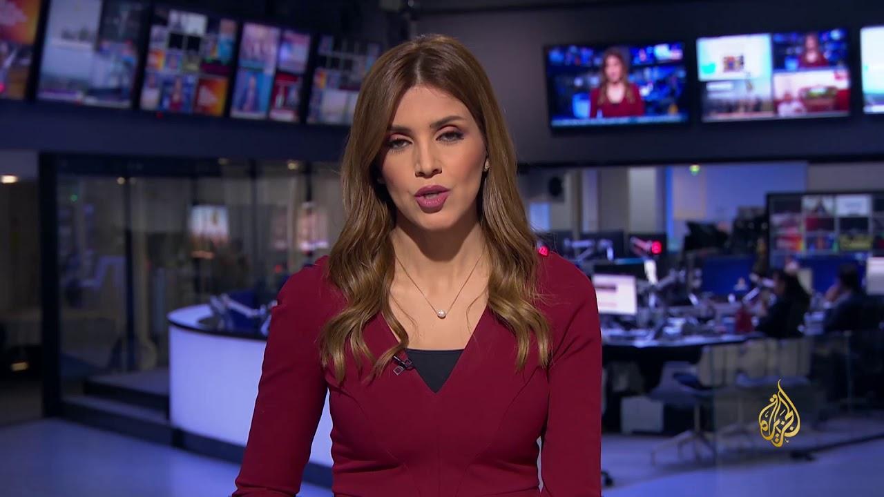الجزيرة:موجز الواحدة ظهرا 19/2/2018
