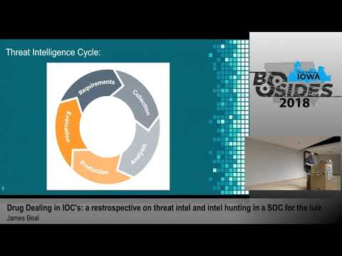 "BSides Iowa 2018: ""Drug Dealing in IOC's: a retrospective on threat intel & threat hunting..."""