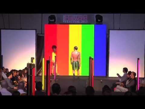 Hive Salon Bangkok's Show in Hairworld Festival 2013