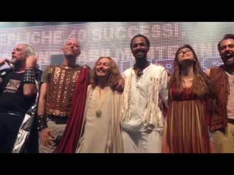 Jesus Christ Superstar - Teatro Sistina 31.5.2014 - Starring Ted Neeley