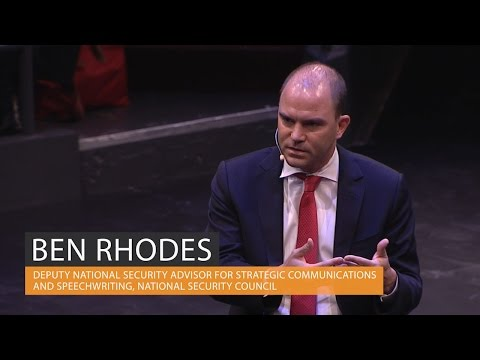 Ben Rhodes on the Obama administration