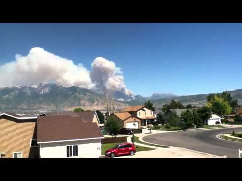 WASATCH MOUNTAIN WILDFIRE July 3rd, 2012