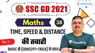 8:00 PM - SSC GD 2021   Maths by Dalbir Nagar   Time, Speed and Distance