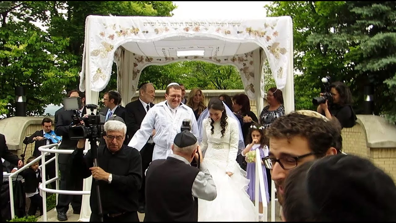 A Long Day And Traditional Jewish Wedding