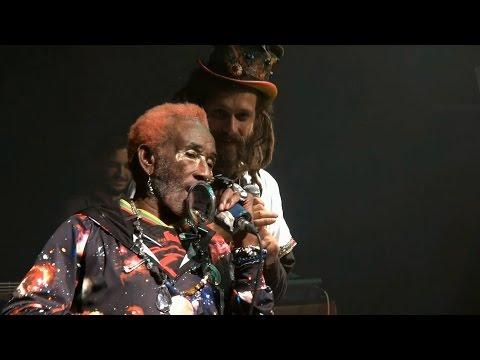 "Lee'Scratch' Perry & Pura Vida Dub ""Jah Live"" - live  @  Cultuurdienst Bredene / Belgia 2015"