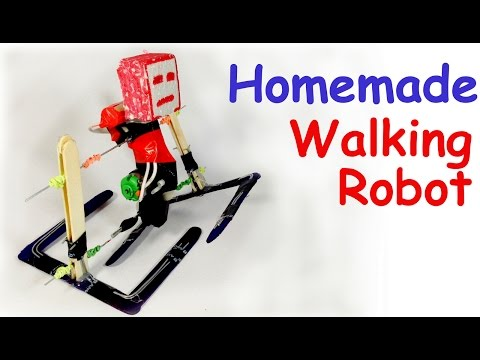 how to make a simple walking robot pdf