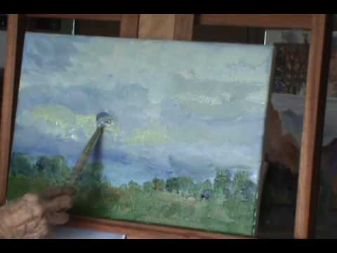 Acrylic Landscape Demonstration  by Millie Gift Smith