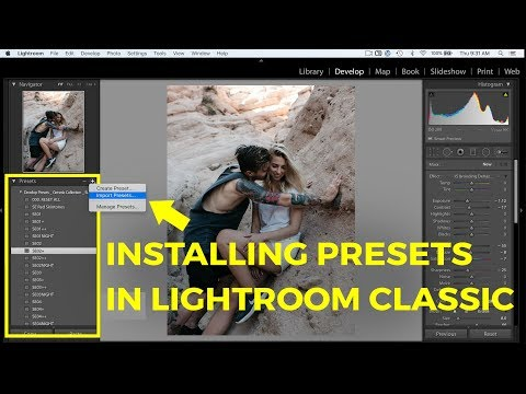 INSTALLING PRESETS IN LIGHTROOM CC CLASSIC (LRTEMPLATE + XMP)