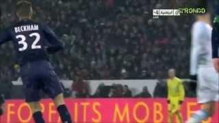 David Beckham PSG 2013 Greatest Moments   HD