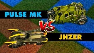 NEW BATMOBILE CARS - JHZER vs MK (Rocket League)