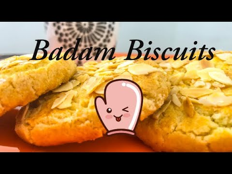 Peu d'ingrédients pour 70 Badam Biscuits ou Biscuits aux Amandes ?!?