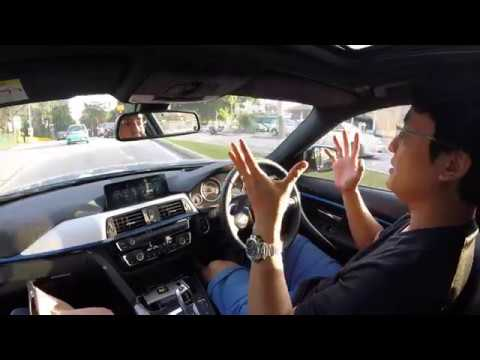 2018 Bmw 330e Full Electric Only Review Evomalaysia Com Youtube