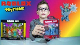 Roblox Παιχνίδια Φιγούρες Mix and Match Celebrity Fashion Icon Set Unboxing