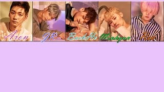[KARAOKE-THAISUB] NU'EST (뉴이스트) - Love Paint (every afternoon)
