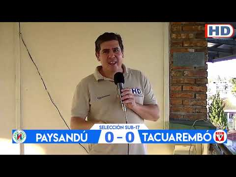 Copa de Selecciones OFI - Paysandú vs Tacuarembó