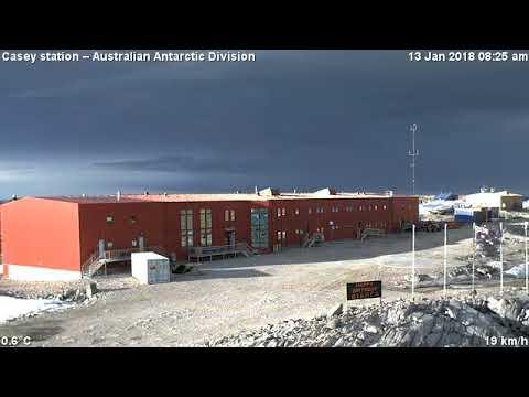 Casey station – Antarctic webcam 24 Hour Sun
