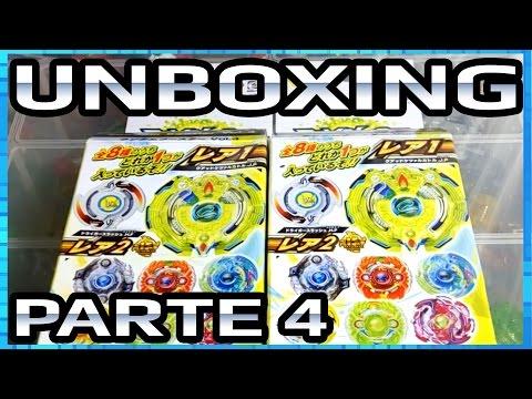 Unboxing B-61 Random Booster Vol. 4 - Beyblade Burst!! - Parte 4 [PT-Br]