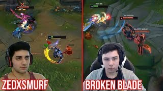 THESE PLAYERS ARE MONSTERS! REAL 200 IQ PLAYS of LEAGUE OF LEGENDS