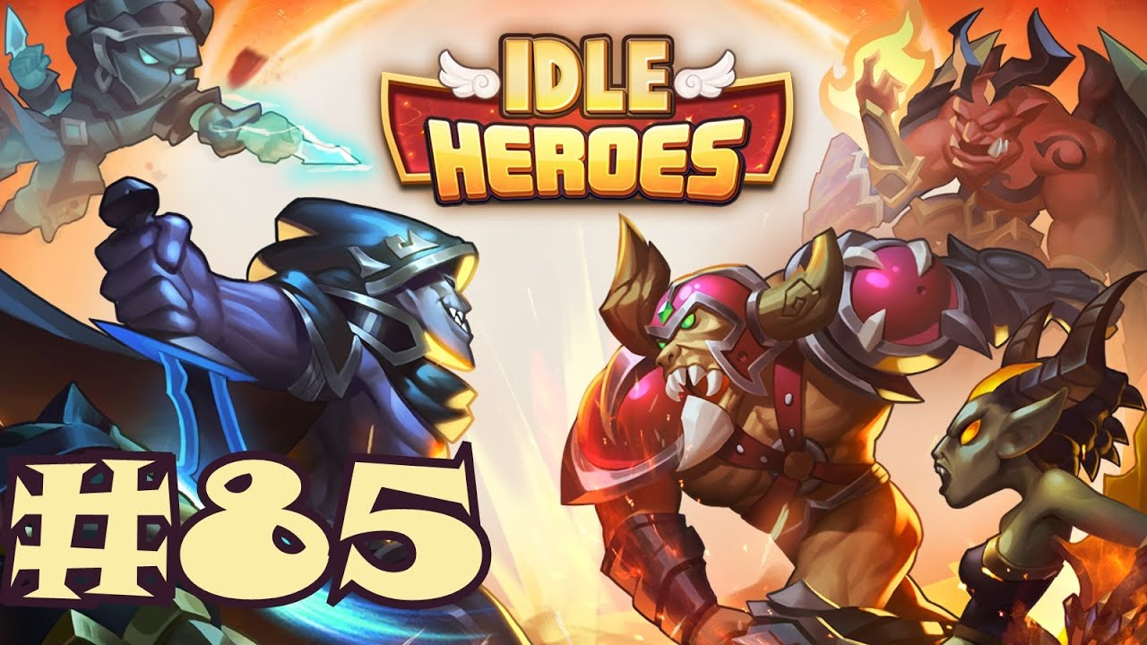 Idle Heroes Gameplay #85 - Level 114!
