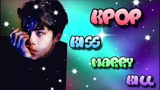 [KPOP] KISS MARRY KILL [BOYGROUP + BONUS ROUND!] [HARD]