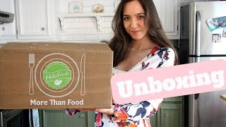 Hello Fresh Unboxing- Is it worth it? LIVE DEMO
