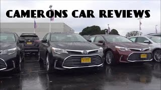 2016 Toyota Avalon Limited 3.5 L V6 Review | Camerons Car Reviews