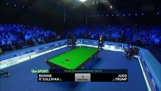 Ronnie O'Sullivan vs Judd Trump SF Coral Tour Championship 2019 Full Match