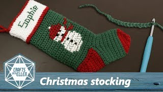 Making A Christmas Stocking for Sophie | Crochet Project