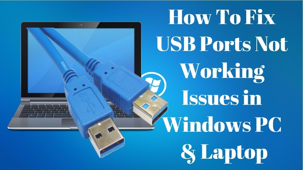 windows 7 fix usb drive