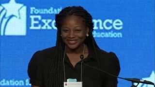 #EIE14 Denisha Merriweather - Introducing Gov. Jeb Bush - Highlight 3