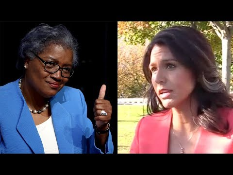 "Tulsi Gabbard ""Not Surprised"" By Donna Brazile"