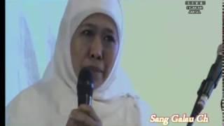 Khofifah ( Mensos ) Vs Gus Ipul ; Dua testimoni kewalian Gus Dur oleh Cagub Jatim