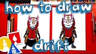 How To Draw Drift From Fortnite