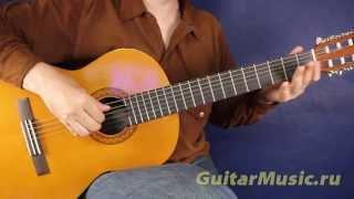 Smoke on the Water — простой вариант исполнения — Простые мелодии для гитары
