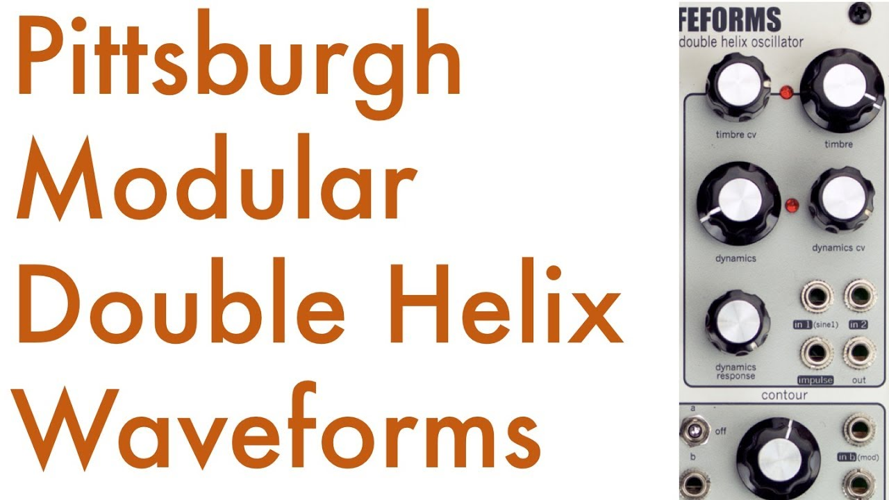 Pittsburgh Modular Lifeforms Double Helix (28HP)