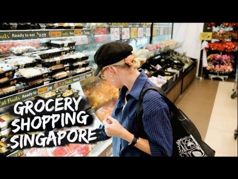 This Is How We Grocery Shop In Singapore // Singapore Expats