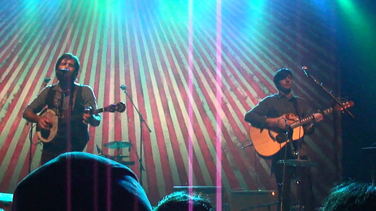 Laundry Room Avett Brothers LIVE 3rd Row Popejoy Hall UNM Albuquerque NM  20Oct2011 Part 70