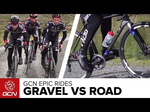 Gravel Bike vs Road Bike - What's The Difference? GCN's Epic Gravel Ride